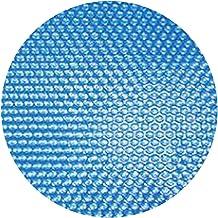 A/A Lona Solar/Cubierta, Lona Solar De Piscina, Diámetro Solar De Lona con 305 Cm, Grosor 120 Μm para Protección Ambiental Y Calentamiento De Agua por Energía Solar
