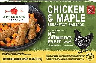 Applegate, Natural Chicken & Maple Breakfast Sausage, 7oz (Frozen)