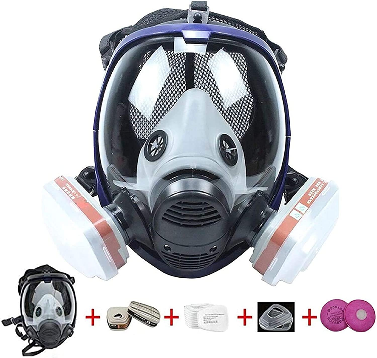 Generies FNWD 17 in 1 Full Face F 1 year warranty Reusable Protective Respirator Dealing full price reduction