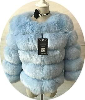 baby blue mink coat
