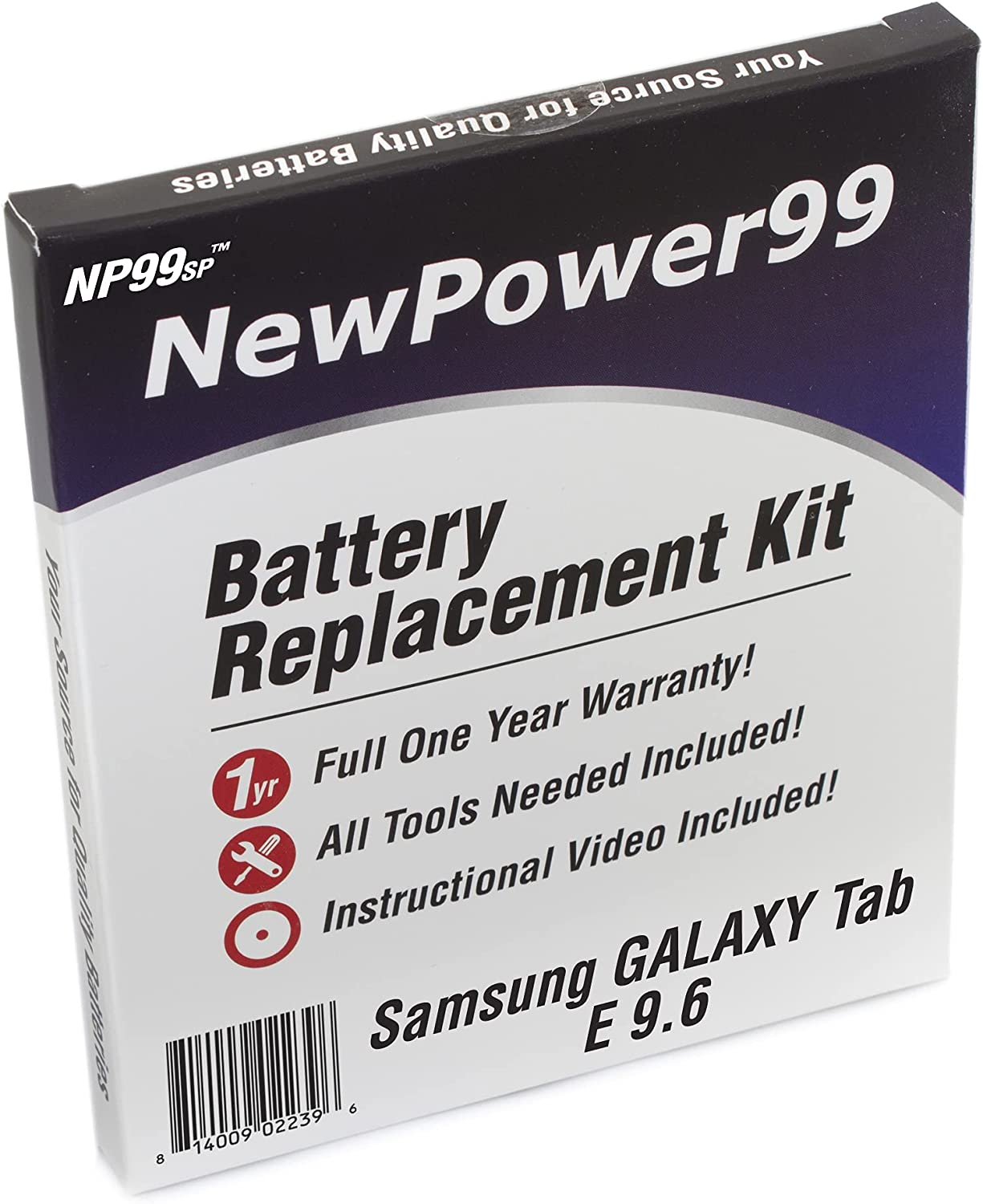 Battery Kit with Tools Video Tab for Brand new and Samsung Galaxy Clearance SALE! Limited time!
