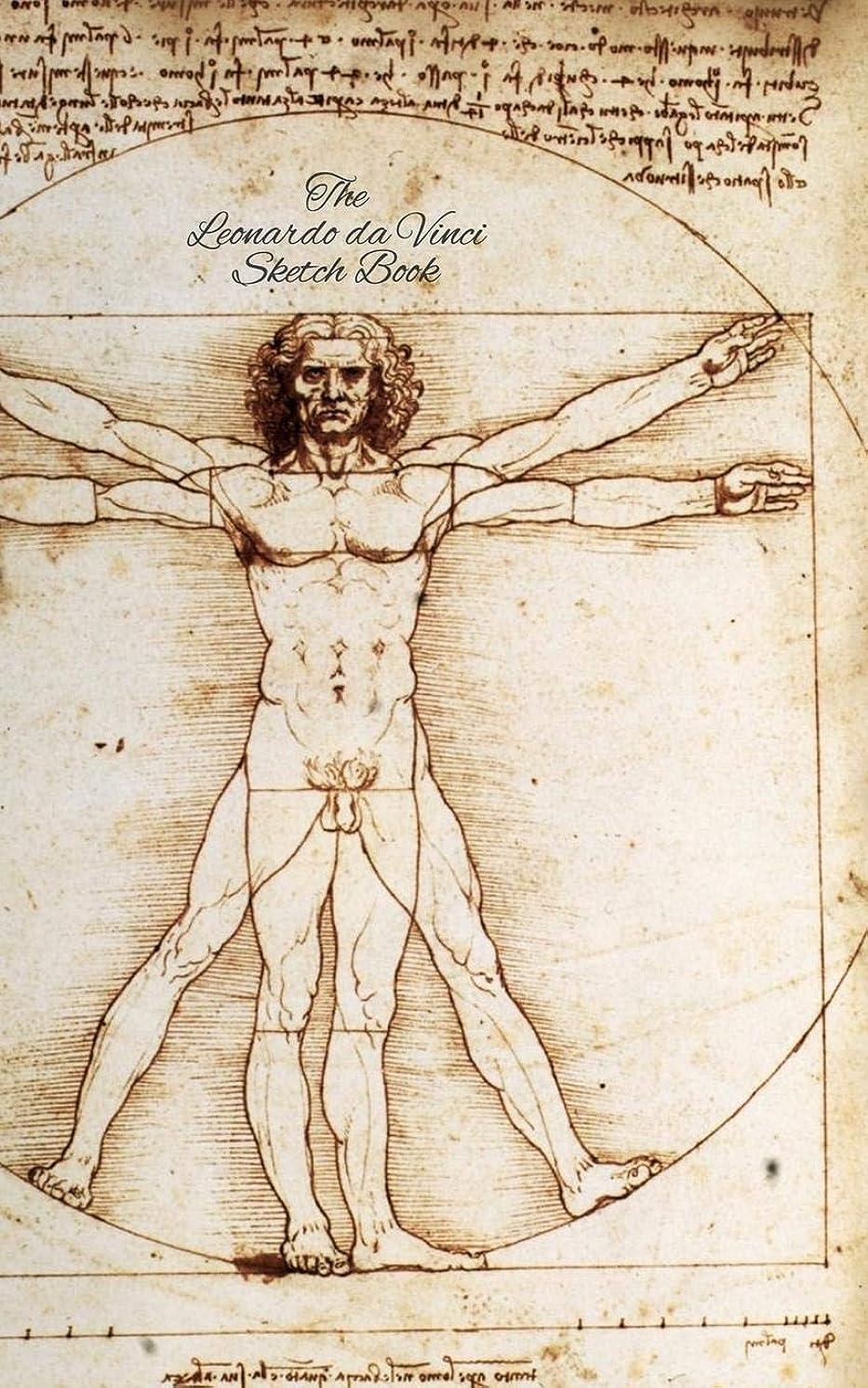 頑張る貸す計算するThe Leonardo da Vinci Sketch Book: The Vitruvian Man: 150 Blank Paper - Leonardo da Vinci?s Notebook, Journal, Sketchbook, Diary, Manuscript (The Vitruvian Man)