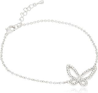 Daniel Swarovski Edition Women Crystal DSE Butterfly Bracelet F/W 19