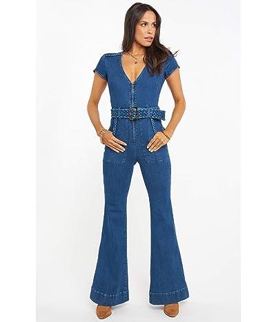 Show Me Your Mumu Heartland Jumpsuit (Braided True Blue) Women