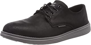 Skechers Status Versen Mens Relaxed Fit Suede Shoes