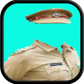 Indian Police Suit Photo Maker