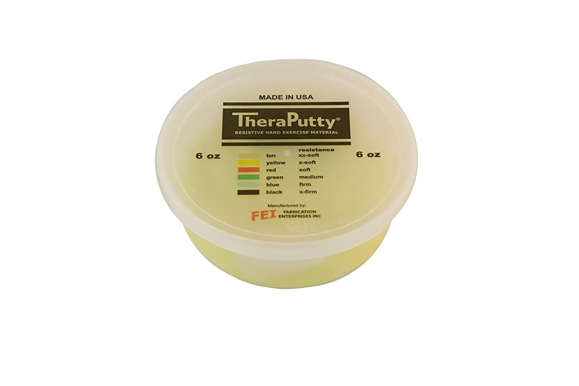 Theraputty Cando Plus Antimicrobial Theraputty, Yellow