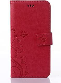 Generic Samsung Galaxy S4 i9500 / GT - i9505 Case, PU embossed butterfly & flower Leather Wallet Stand Flip Case for Samsu...