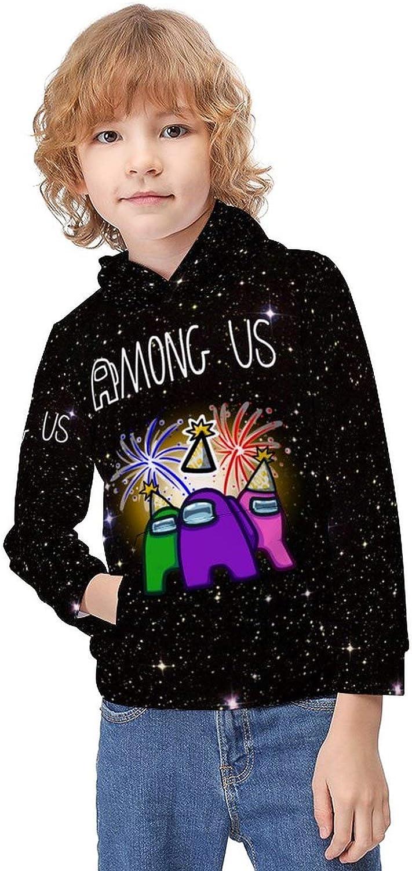 JETEZ Childrens Hoodies Unisex 3D Print Pullover Hooded Sweatshirt for Boys//Girls//Kids