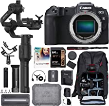 $1449 » Canon EOS RP Full Frame Mirrorless Digital Camera Body 3380C002 Filmmaker's Kit with DJI Ronin-S Essentials Kit 3-Axis Handheld Gimbal Stabilizer Bundle + Deco Photo Backpack Case + 64GB + Software