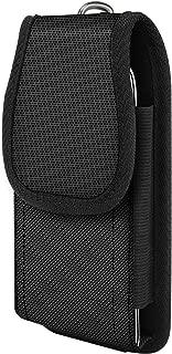 MoKo Phone Belt Clip Holster, Nylon Belt Pouch Holster Cover Waist Bag Fit 6.8