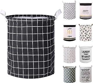 Devlop Panier à linge en tissu pliable avec grande capacité pour couettes, oreillers, draps, couvertures et vêtements 【éta...