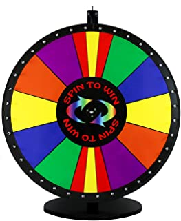 30in Spin to Win Dry Erase Prize Wheel with Special Sections