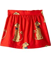 mini rodini - Spaniels Woven Skirt (Infant/Toddler/Little Kids/Big Kids)