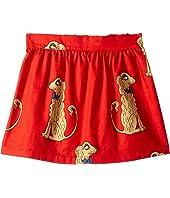 mini rodini - Spaniels Woven Skirt (Infant/Toddler/Little Kids/Big Kids)