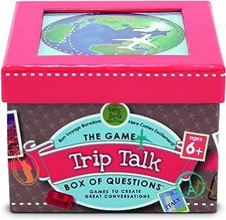 Melissa & Doug Trip Talk Box of Questions Travel Game - 45 Conversation Starters, 25 Quiz Cards