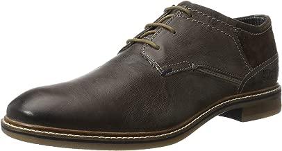 Bugatti Men Lace-Up Shoes Black, (Grey/Dark Grey) 312300013214-1511