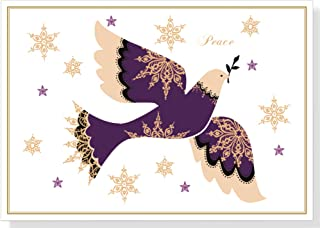 Snowflake Dove Deluxe Boxed Holiday Cards (Christmas Cards, Greeting Cards)