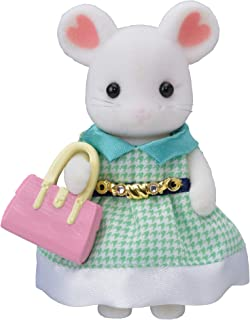 Calico Critters Town Girl Series - Stephanie Marshmallow Mouse