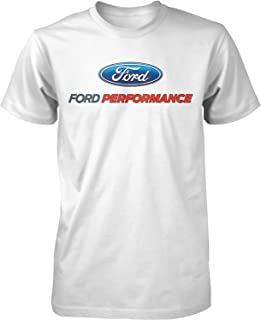 Lucky Ride Ford Performance T-Shirt Mustang GT ST Racing (Front Print)