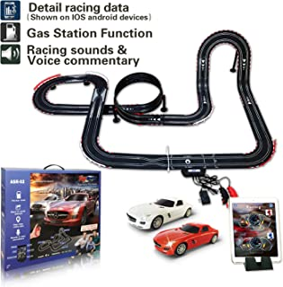 AGM Slot car Set with Racing Assistant APP No.ASR-02 1:43 Scale