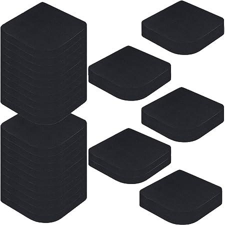 GZLCEU 30 Pièces Anti-Vibration Pads, Multifonctionnelle Lave-Linge Tapis Anti Bruit pour Réfrigérateur Meubles Électroménagers