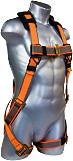 Warthog Full Body Universal Harness with Pass-Thru Leg Buckles (S-M-L), OSHA/ANSI Compliant