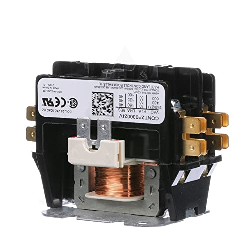Replacement for Goodman Double Pole / 2 Pole 30 Amp Condenser Contactor CONT2P030024VS