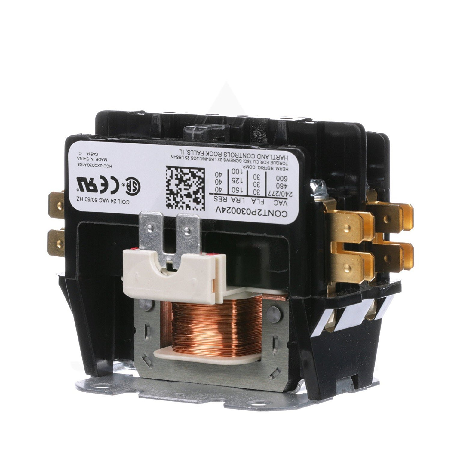 hvac contactor amazon comreplacement for goodman double pole 2 pole 30 amp condenser contactor cont2p030024vs