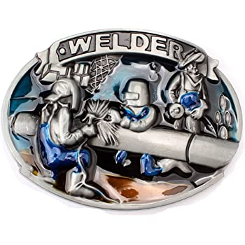 Men's Welder Belt Buckle Western Cowboy Native American (BBFA-WDR-02)