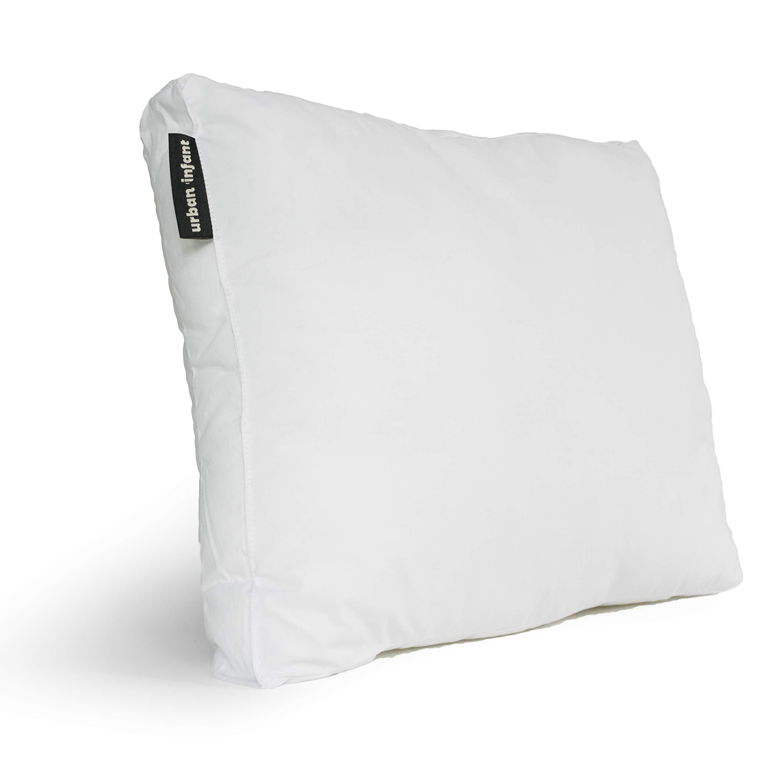 Toddler 40cm x 60cm Hollowfibre Junior Cot Bed 100/% Luxury Fine Cotton Pillow