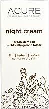 product image for Acure Organics, Night Cream, Argan Stem Cell + Chlorella Growth Factor, 1.75 fl oz (50 ml) - 2pc