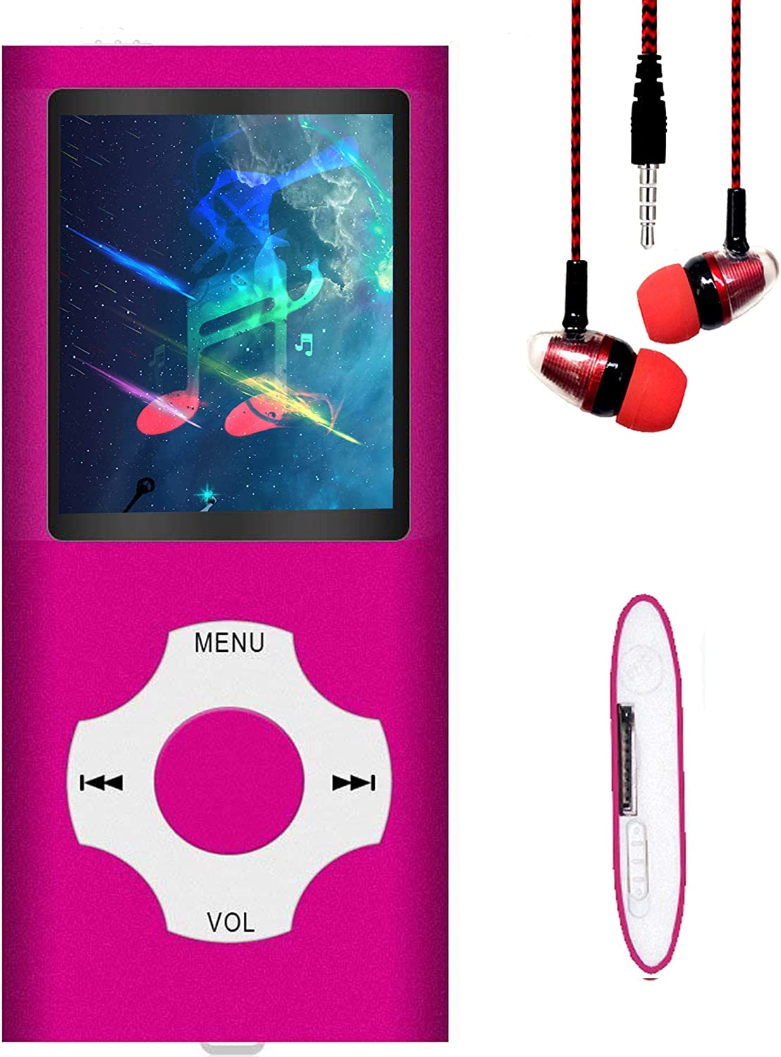 MP3 Player Ranking TOP13 MP4 Hotechs 32GB with Choice Music Memo