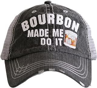 Bourbon Made Me Do It Baseball Hats Caps by