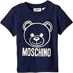 Short Sleeve Logo Teddy Bear T-Shirt (Infant/Toddler)