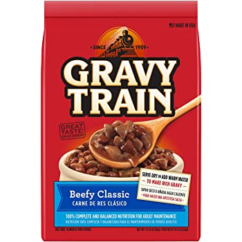 Gravy Train Beefy Classic Dry Dog Food, 14-Pound