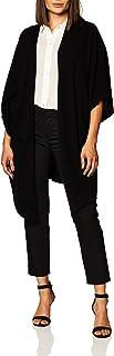 Lark & Ro De Gran tamaño Drapey Open Cardigan suéter con Bolsillo Chamarra de Punto para Mujer