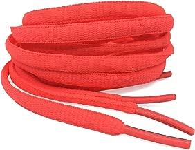 DELELE 2Pair Oval Shoes laces 42 Colors Half Round 1/4