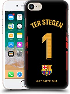 Official FC Barcelona TER Stegen 2018/19 Players Home Kit Group 1 Hard Back Case Compatible for iPhone 7 / iPhone 8