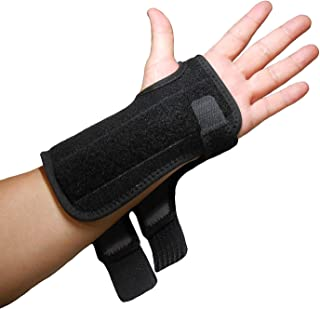 IRUFA,WS-OS-53,New 3D Breathable Patented Fabric RSI Wrist Splint Brace Support, Night support for Carpal Tunnel Syndrome, Sports, Sprains, Arthritis and Tendinitis (Left Hand)