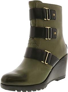 c77d51e81dc Amazon.com  Wedge - Ankle   Bootie   Boots  Clothing