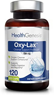 Sponsored Ad - Oxy-Lax 750 mg 120 Vcaps - Natural Magnesium Oxide | Gentle Laxative | Healthy Digestive Tract | Regularity...