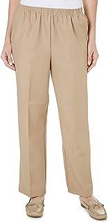 77b087ded2a Alfred Dunner Women s Classics Pants - Medium Length
