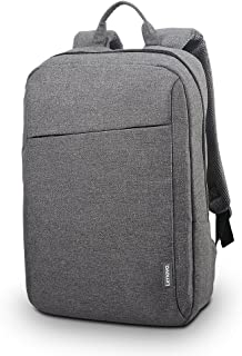 Lenovo Laptop Backpack B210, fits for 15.6-Inch Laptop and Tablet, Sleek for Travel, Durable, Water-Repellent Fabric, Clean Design, Business Casual or College, for Men Women Students, GX40Q17227