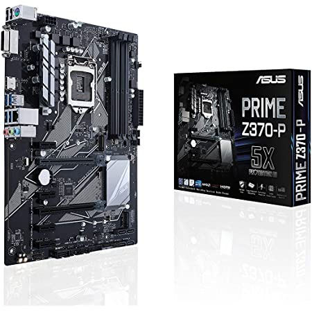 ASUS PRIME Z370-P LGA1151 DDR4 HDMI DVI M.2 Z370 ATX Motherboard with USB 3.1 for 8th Generation Intel Core Processors