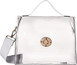 Clear Stadium Bag with Additional Strap Handle