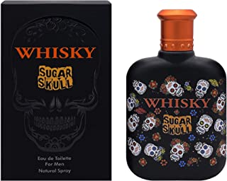 Evaflorparis Whisky Sugar Skull Eau de Toilette 100 Ml Perfume Spray Men Perfume Evaflorparis 520 g