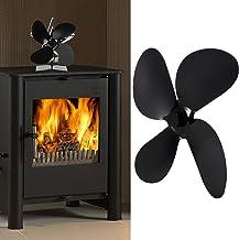 Ufolet Lâmina para ventilador de eletrodoméstico, lâmina para ventilador de 4 folhas, acessórios para fogão doméstico de b...