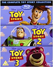 Toy Story TRILOGY [Blu-Ray Box Set] Complete 1, 2, 3, Disney & Pixar All 3 Movies