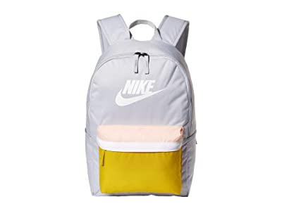 Nike Heritage Backpack 2.0 (Sky Grey/Saffron Quartz/White) Backpack Bags